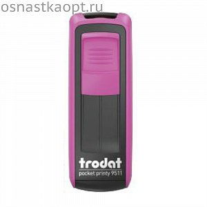 Оснастка Trodat 9511 Pocket Printy Фуксия