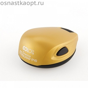 Карманная оснастка Colop Stamp Mouse R40. Золото