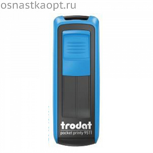 Оснастка Trodat 9511 Pocket Printy Синий