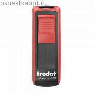 Оснастка Trodat 9511 Pocket Printy Красный